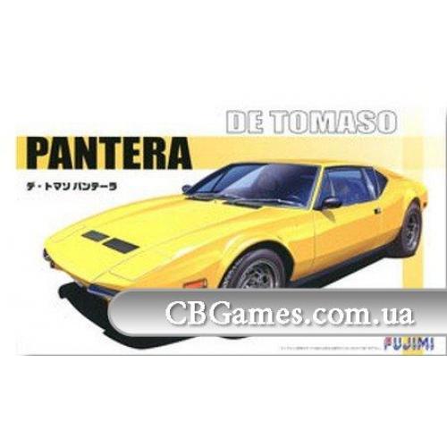 Спортивный автомобиль De Tomaso Pantera (FU125572) Масштаб:  1:24
