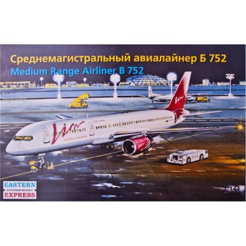 Среднемагистральный авиалайнер Б-752 (EE14428) Масштаб:  1:144