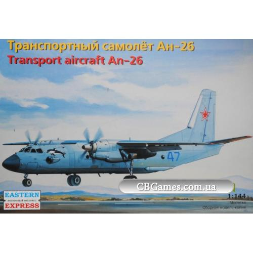 Транспортный самолет Антонов Ан-26 (EE14483) Масштаб:  1:144
