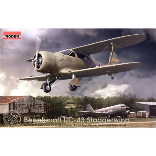RN442  Beechcraft UC-43 Staggerwing