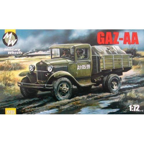 Советский автомобиль ГАЗ-АА (MW7233) Масштаб:  1:72