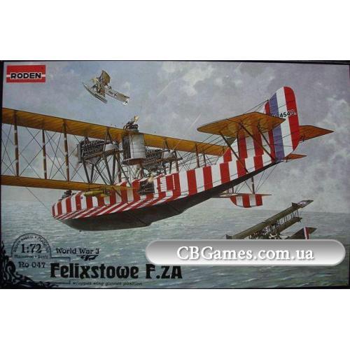RN047  Felixstowe F.2A w/upper wing  (Літак)