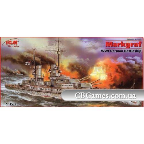 ICMS005  Markgraf' WWI German battleship