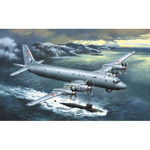 Противолодочный самолёт Ильюшин Ил-38/Ил-38Н (AMO72010-02) Масштаб:  1:72