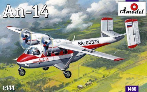 Самолет Антонов Ан-14 (AMO1456) Масштаб:  1:144