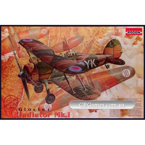 RN408  Gloster Gladiator Mk 1 (Літак)