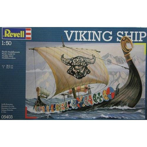 Корабль викингов (Драккар) (RV05403) Масштаб:  1:50