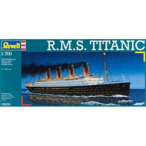 Пароход Титаник / R.M.S. Titanic (RV05210) Масштаб:  1:700