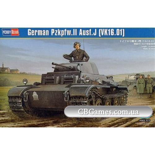 Танк Pzkpfw.II Ausf.J (VK1601) (HB83803) Масштаб:  1:35