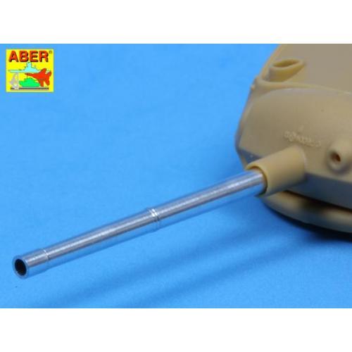 Точеный ствол 75mm для танка M24 Chaffee (ABR35-L85) Масштаб:  1:35