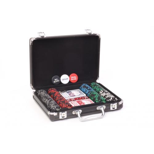 Покерный набор Poker Valentino 200 фишек, номинал 1-100, 11,5гр. (арт. PS-296)