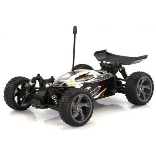 Багги 1:18 Himoto Spino E18XB Brushed (белый) (E18XBw)