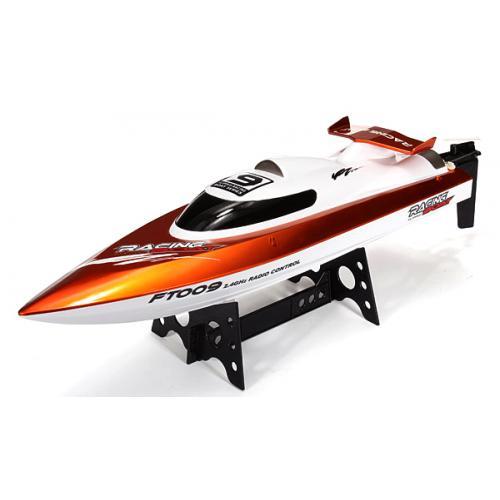 Катер на р/у 2.4GHz Fei Lun FT009 High Speed Boat (оранжевый) (FL-FT009o) + ГОЛОВОЛОМКА В ПОДАРОК