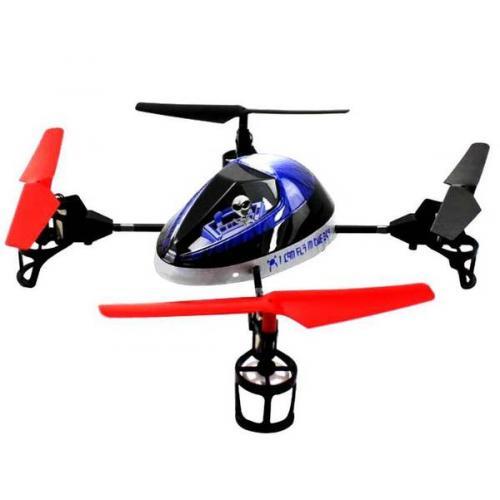 Квадрокоптер р/у 2.4Ghz WL Toys V949 UFO Force (синий) (WL-V949b) CBGames
