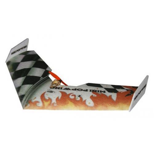Летающее крыло Tech One Mini Popwing 600мм EPP ARF (черный) (TO-04002B) CBGames