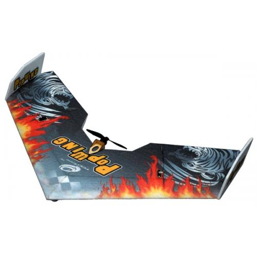 Летающее крыло Tech One Popwing 900мм EPP ARF (черный) (TO-04001B) CBGames