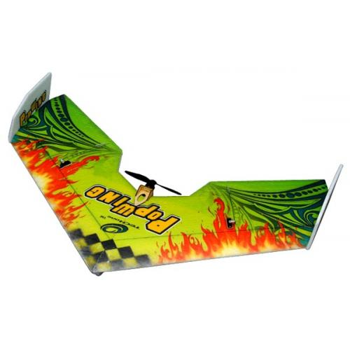 Летающее крыло Tech One Popwing 900мм EPP ARF (зеленый) (TO-04001G) CBGames