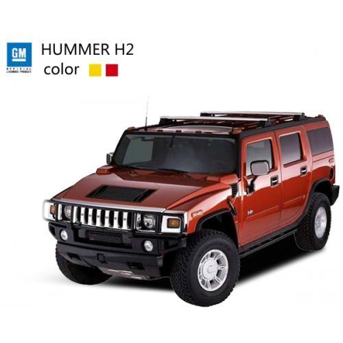 Машинка микро р/у 1:43 лиценз. Hummer H2 (красный) (SQW8004-H2r) CBGames