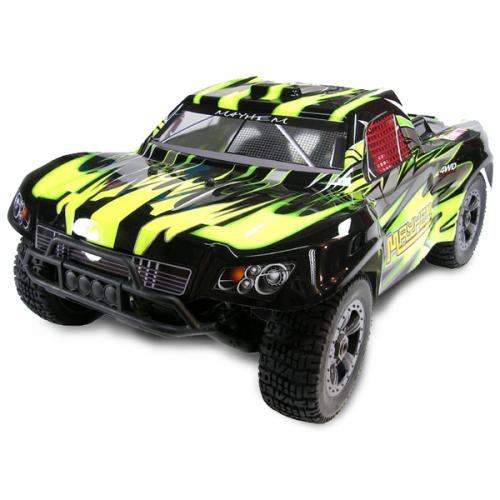 Шорт 1:8 Himoto Mayhem MegaE8SCL Brushless (зеленый) (MegaE8SCLg)