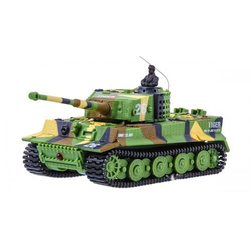 Танк микро р/у 1:72 Tiger со звуком (хаки зеленый) (GWT2117-1) CBGames