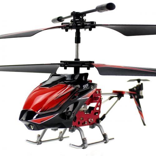 Вертолёт 3-к микро и/к WL Toys S929 с автопилотом (красный) (WL-S929r)