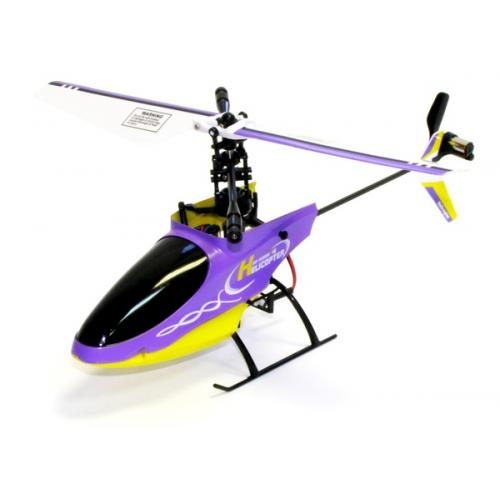 Вертолёт 4-к микро р/у 2.4GHz Xieda 9958 (фиолетовый) (GWT-9958v)