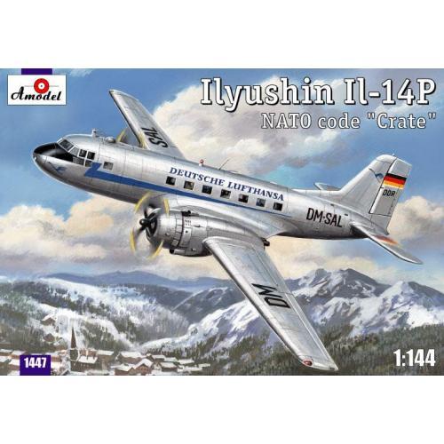 Ilyushin IL-14P DDR Lufthansa civil aircraft