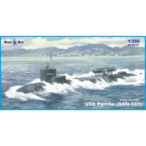 Подводная лодка USS Parche (SSN-683) (ранняя версия)
