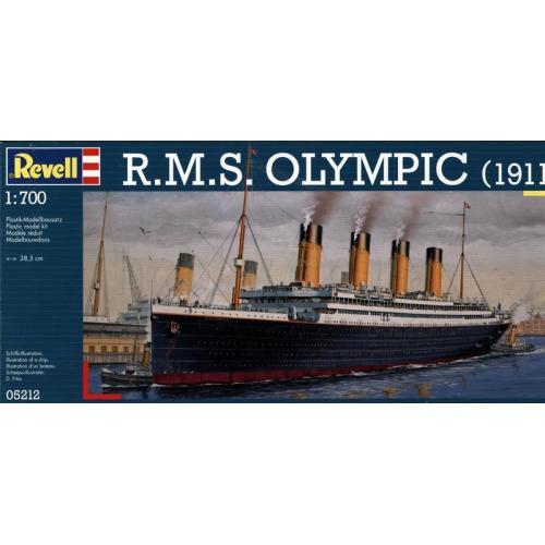 Лайнер R.M.S. Olympic (1911) 1:700