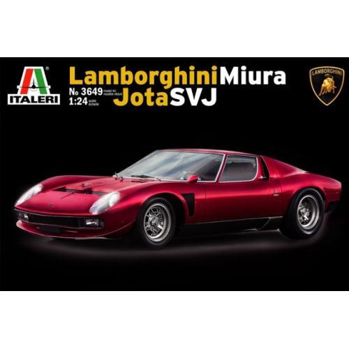 Автомобиль Lamborghini Miura Jota SVJ