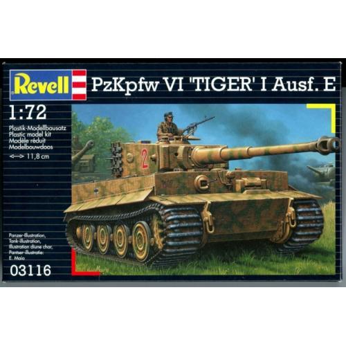 Тяжёлый танк Panzerkampfwagen VI 1:72