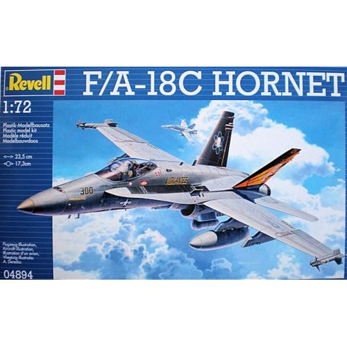 Истребитель F/A-18C Hornet 1:72