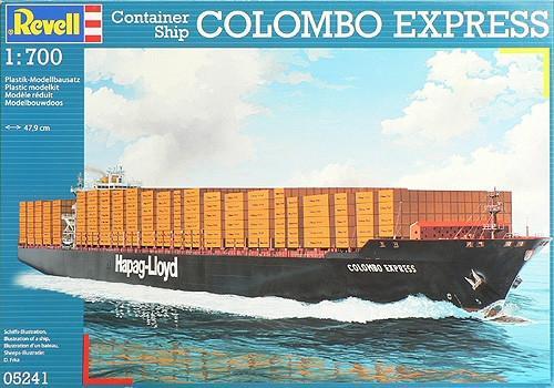 Контейнерное судно Colombo Express 1:700