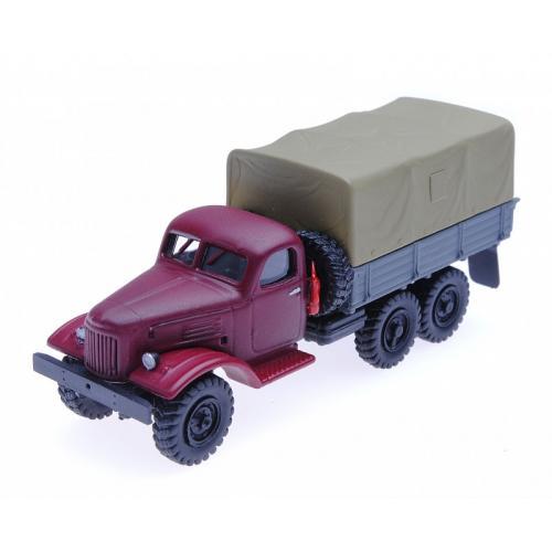 Автомобиль Зил-157, гражданский, вариант 4 1:87