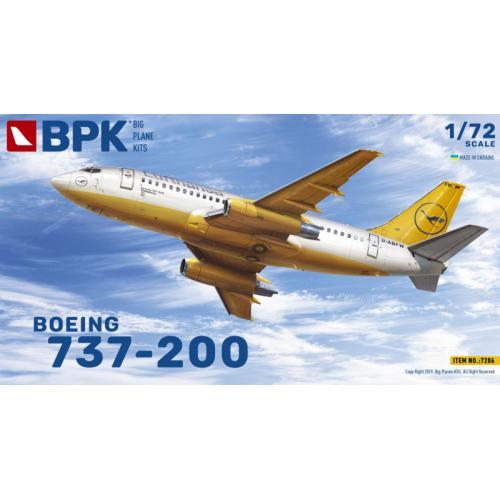 Boeing 737-200 авіакомпанія Lufthansa 1:72