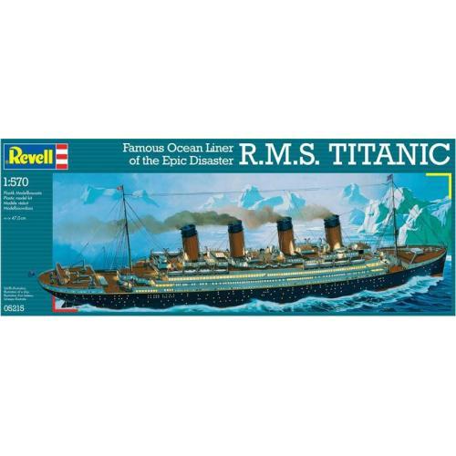 Пароход R.M.S. Titanic 1:570