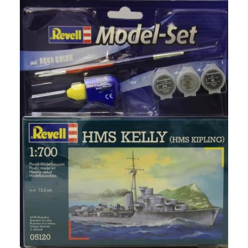 Подарочный набор с крейсером H.M.S. Kelly (H.M.S. Kipling) 1:700