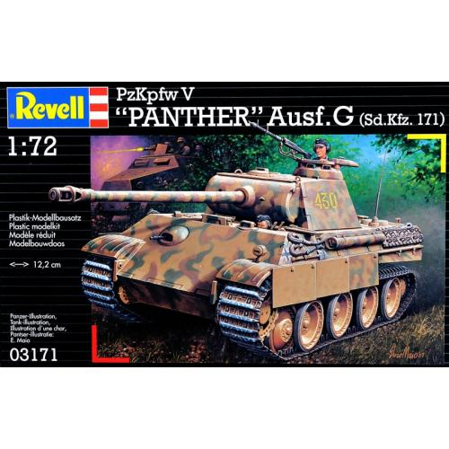 Танк Panzerkampfwagen V Panther Ausg. G 1:72