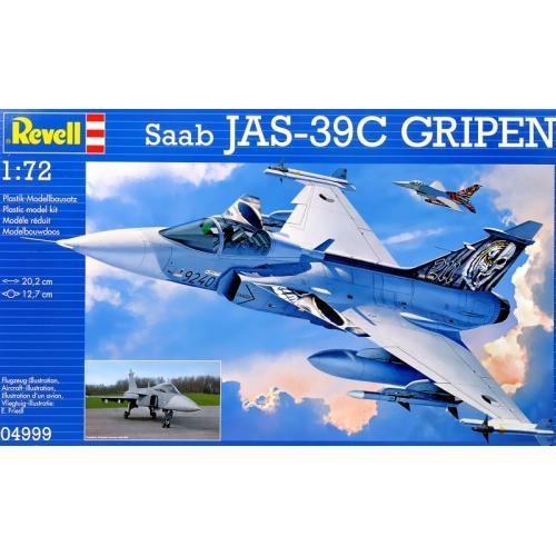 Истребитель Saab JAS 39C Gripen 1:72