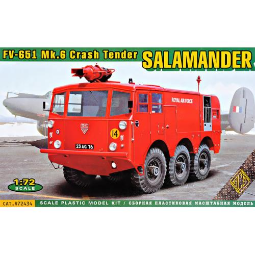 Аэродромная пожарная машина FV-651 Mk.6 Salamander 1:72