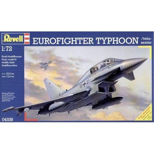 Многоцелевой истребитель Еврофайтер Тайфун 1:72