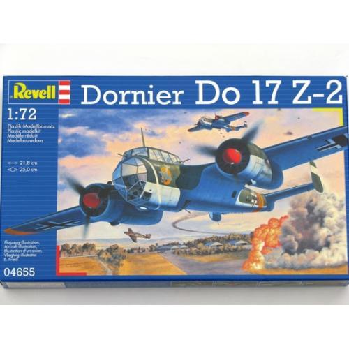: Пластиковая модель для склеивания Dornier Do 17Z 1:72