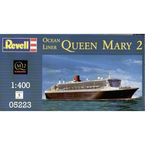 Океанский лайнер Queen Mary 2 1:400