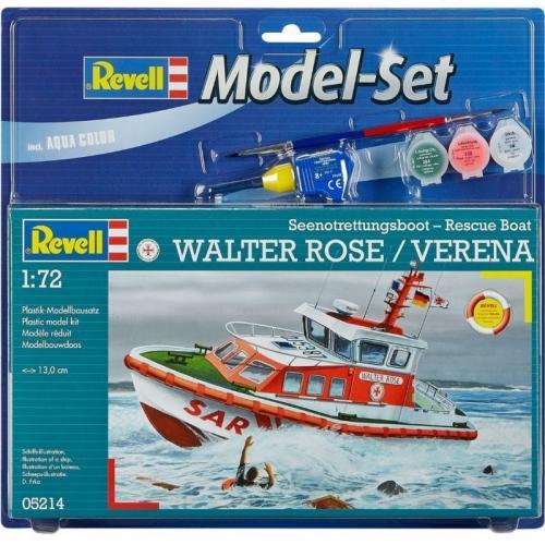 Подарочный набор с катером DGzRS Walter Rose/Verena 1:72