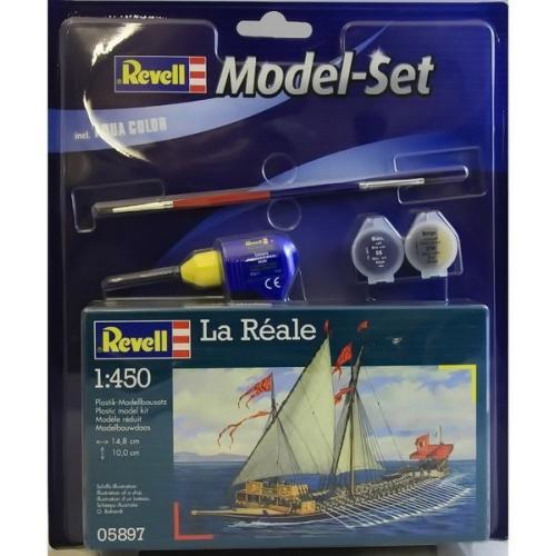 Подарочный набор с галерой La Reale 1:450