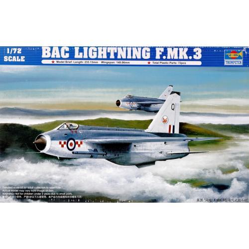 Самолет English Electric (BAC) Lightning F.MK3 1:72