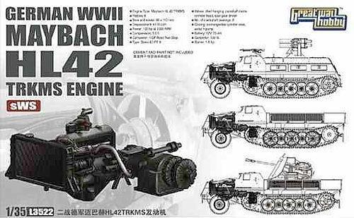 Немецкий двигатель Maybach HL42 1:35