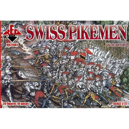 Швейцарские копьеносцы, 16 век 1:72