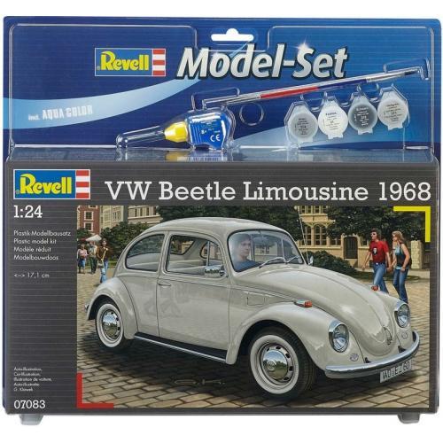 Подарочный набор из автомобилем VW Beetle Limousine 1968 1:24