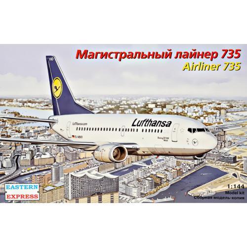 Пассажирский самолет Airliner 735 Lufthansa